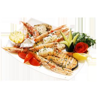 Recettes de poissons et crustacés